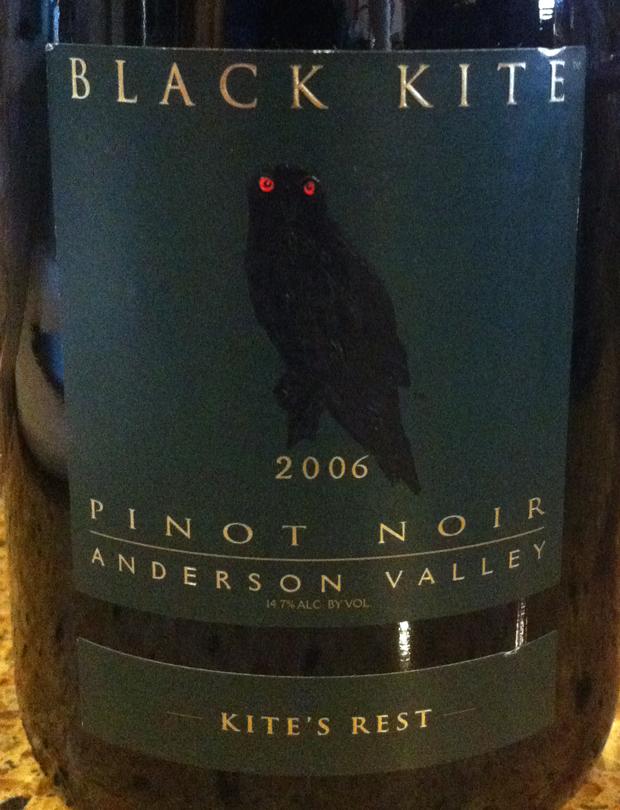 2006 Black Kite Pinot Noir