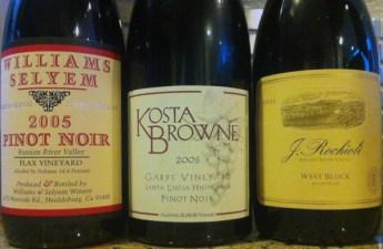 2005 California Cult Pinot Noir