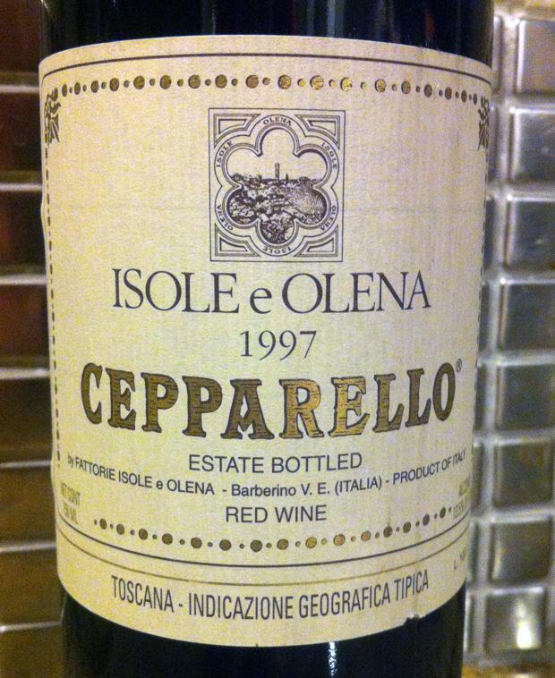 1997 Isole e Olena Cepparello