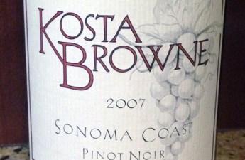 2007 Kosta Brown Sonoma Coast