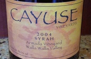 2004 Cayuse Armada Vineyard Syrah