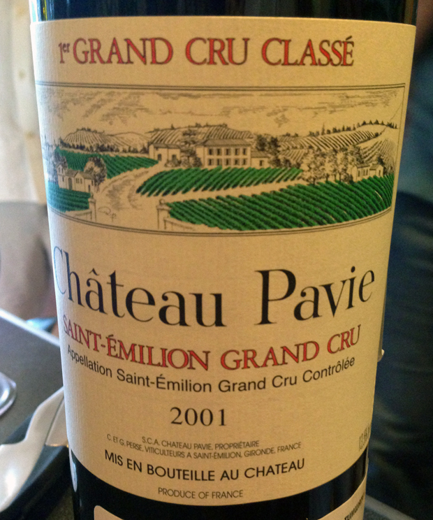2001 Chateau Pavie