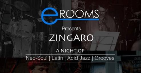 Zingaro neo-soul latin acid jazz grooves