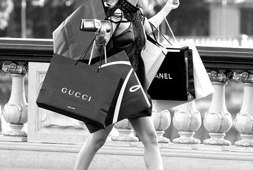 shopping bags gossip girl