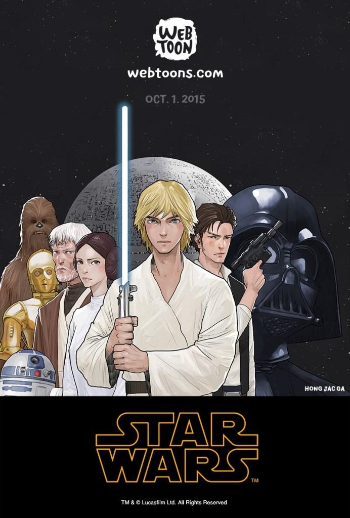 LINE Webtoon Presents Debut of Star Wars Digital Comic Series_1