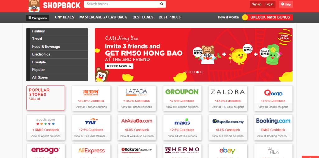 Sales 2016_ShopBack Malaysia