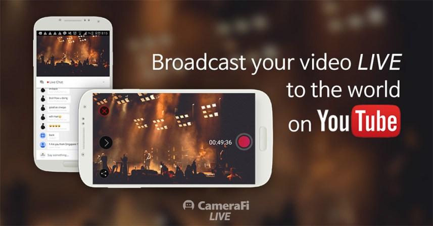 YouTube Livestreaming app CameraFi Live_5
