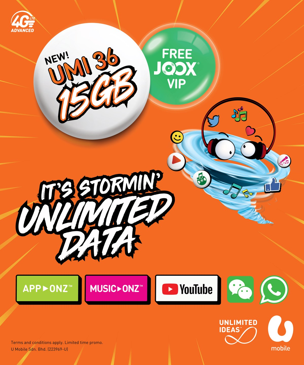 UMI 36 - It's Stormin' Unlimited Data!