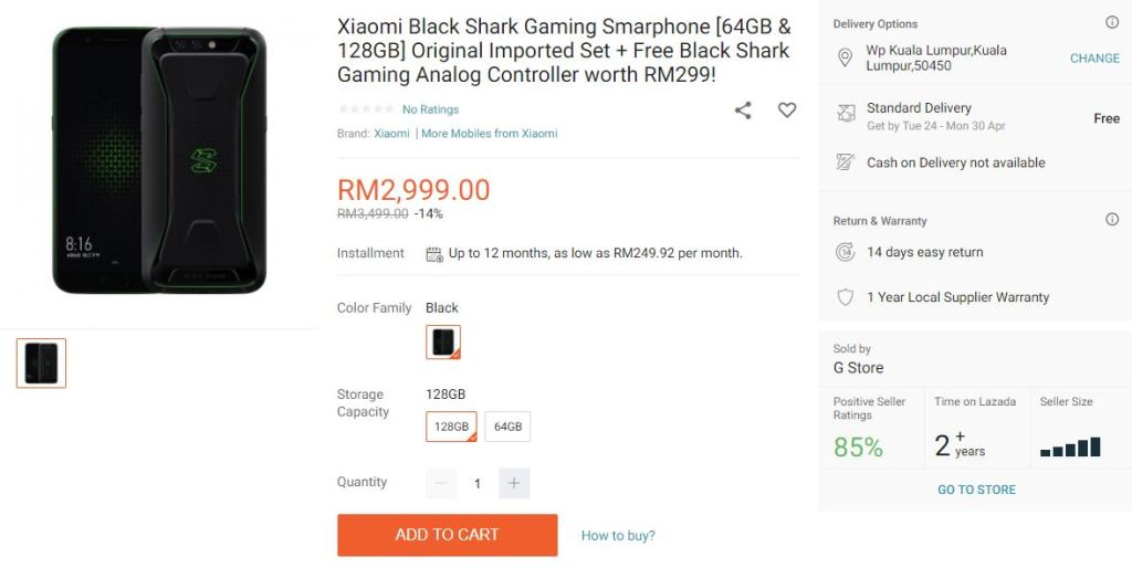 xiaomi blackshark feartured