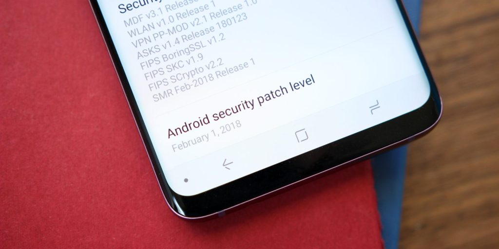 android_security_patch_level_s9_1