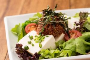 Tofu Salad with Miso