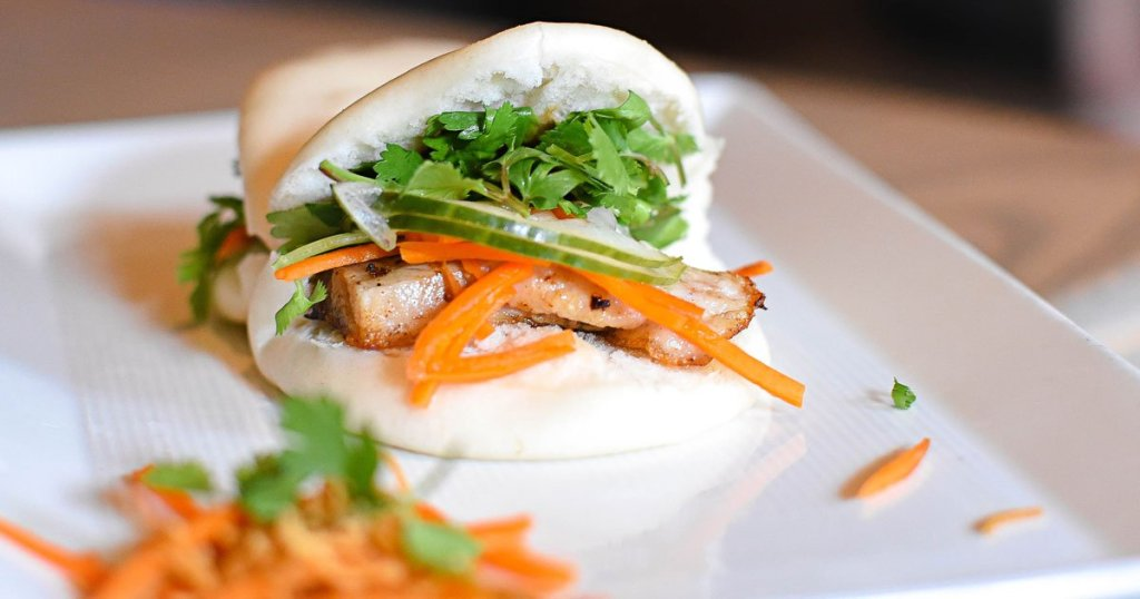 Happy Hour at CO – Steamed Pork Belly Bun