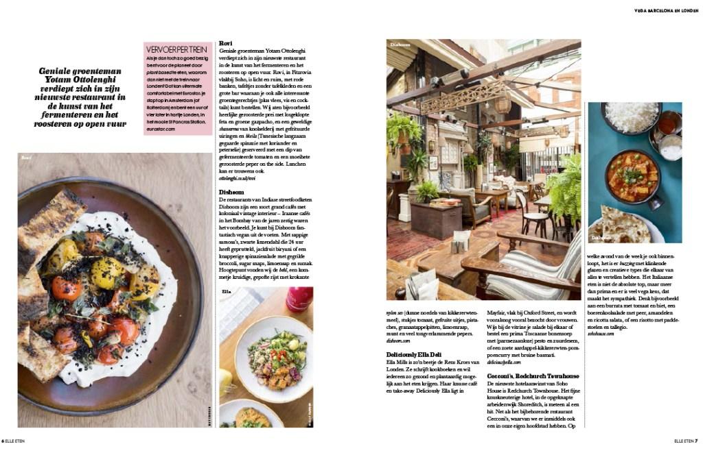 Groentjes uit Barcelona & Londen Article pg 4