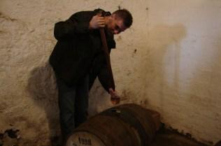 Można było oczywiście samemu nabrać sobie swojej ulubionej whisky za pomocą Valincha. Mój wybór padł na Laphroaiga 1998