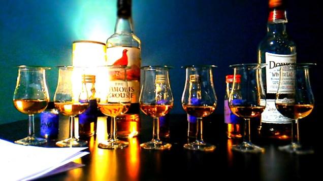 Wielki test blended whisky - cz. 1