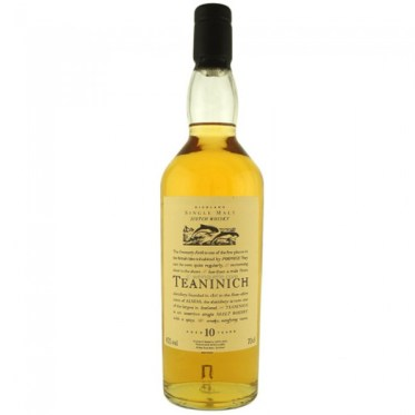 Teaninich jako 10 letnia whisky serii Flora & Fauna