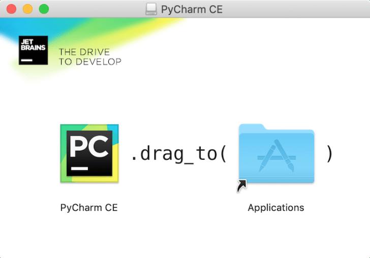 PyCharmのインストール