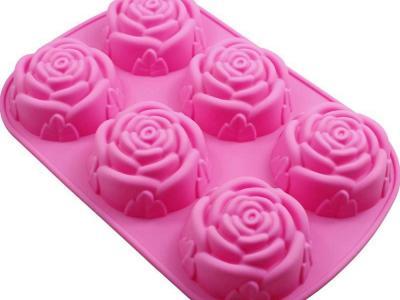 Silikoonvorm 6 roosi