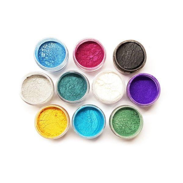 MICA värvid ja glitterid