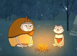 mindfulness, wolven, indianenverhalen zinvollerleven.nl aandacht