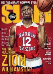 Slam Magazine Zion Williamson