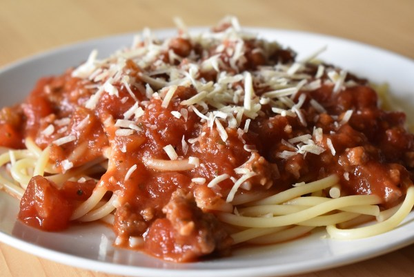 perfected spaghetti sauce