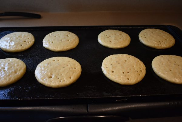 Whole Wheat Pancakes griddle
