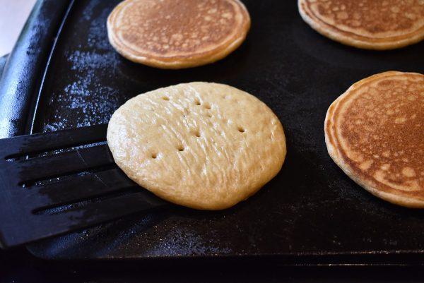 Whole Wheat Pancakes spatula