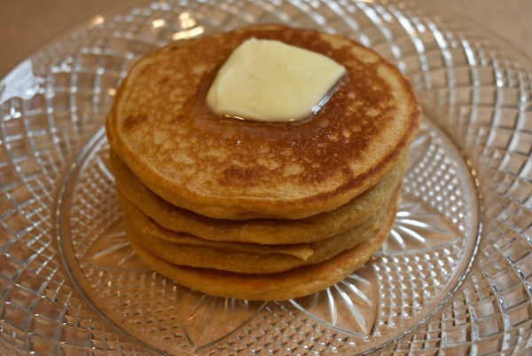 Whole Wheat Pancakes spatula
