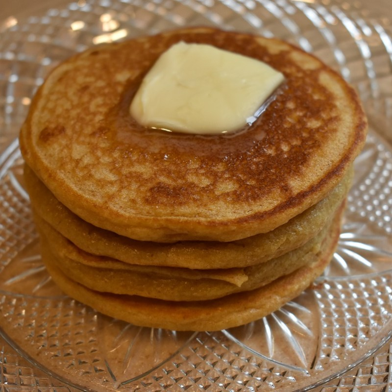 Whole Wheat Pancakes – Perfected