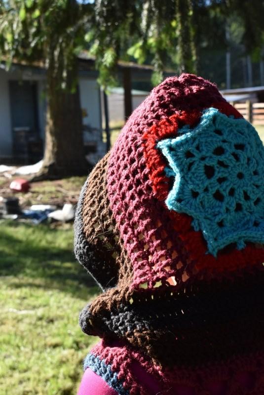 Mandala Hood – To Go With the Mandala Vest
