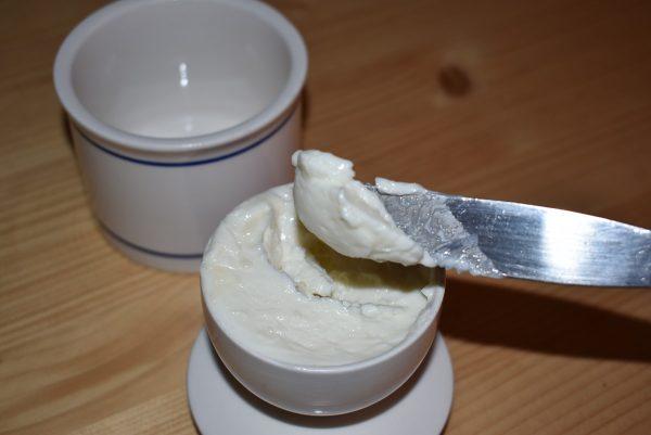 goat milk butter crock