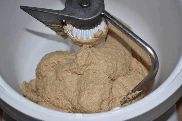 Whole wheat tortillas - mixing