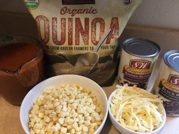 Quinoa Enchilada Casserole -