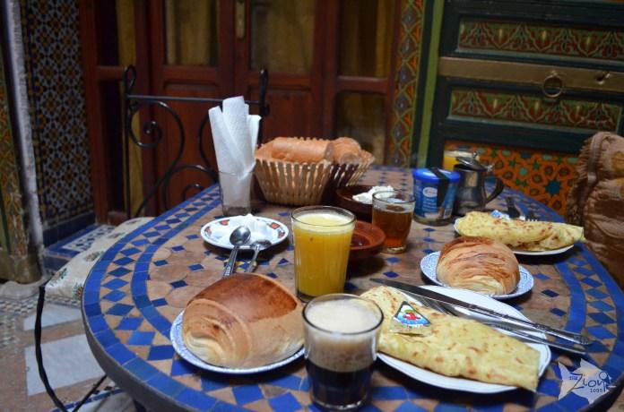 Breakfast in #Fez - #Morocco