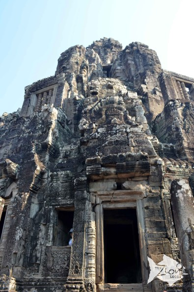 Although the Bayon was a Buddhist temple, other Gods were also worshipped. Separate shrines were dedicated to Vishnu and Shiva, while countless other deities were worshipped.