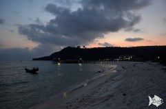 Koh Rong is a new few tourist, backpackers island, undeveloped for years. You find paradise beaches, bungalows and good places for snorkeling.