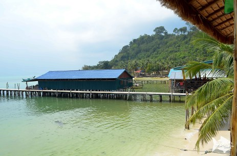Until few years ago, Koh Rong used to be an undiscovered Island with only a few local families living from what the sea provided.