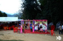 How we crashed a wedding in a rural area in Laos!