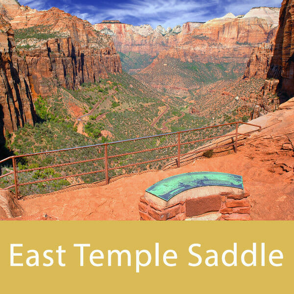 East Temple Saddle