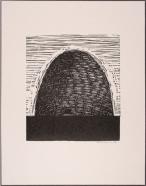 """Beehive"" by Brian Kershisnik, signed $60"
