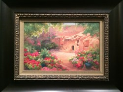 """""""The Empty Tomb"""" by Linda Curley Christensen: 17×22 framed canvas $139.99; 12×14 framed print $34.99"""