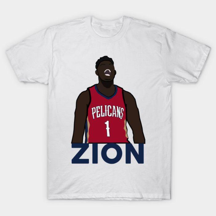 Zion Williamson Pelicans Shirt