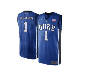 Zion Williamson Duke Jersey (Blue) Image