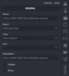 AMST-606 Settings