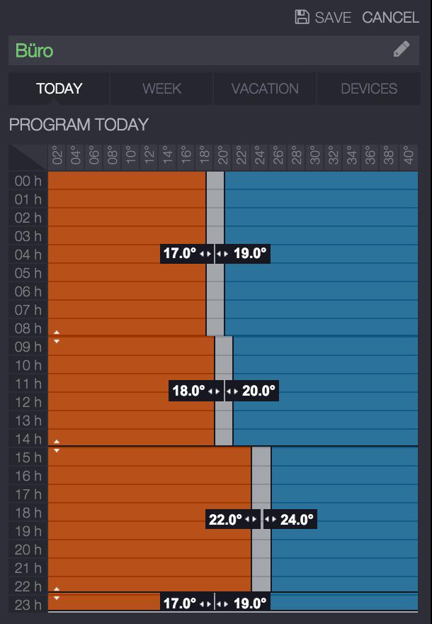 Heiz-Programm
