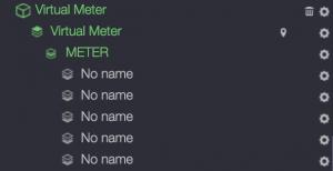 Virtual meter