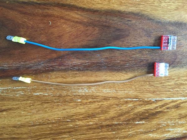 Das 2. Kabel für das Zipatile Netzteil vorbereiten