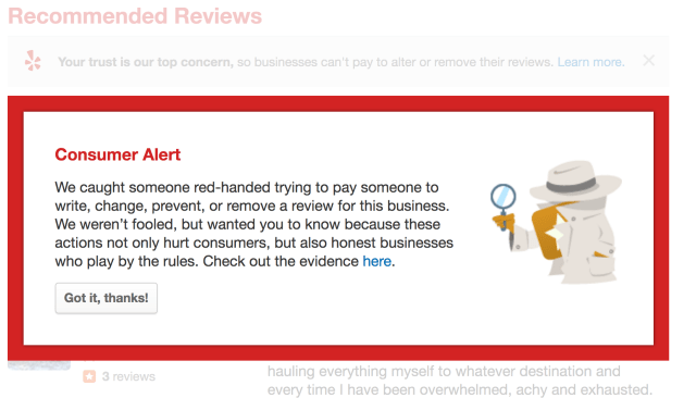 Yelp review writing service: Do Yelpers ever get sued for posting