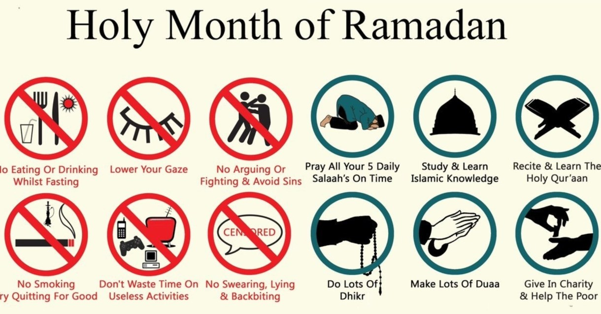 Learn To Mind Your Own Business in Ramadan